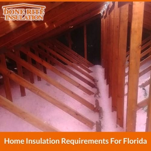 Home Insulation Requirements For Florida Done Rite Insulation